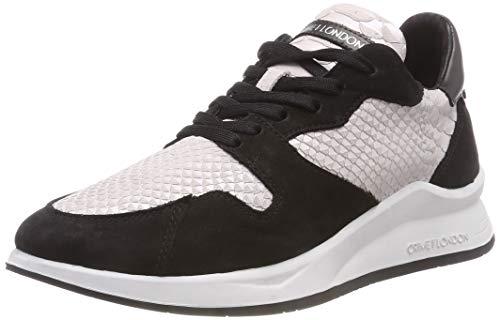 Ecru Basses Sneakers rosa London 73 073 Crime 25701aa1 Femme xwtHYIWnvq