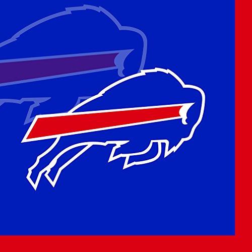 - Creative Converting 16 Count Buffalo Bills Beverage Napkins