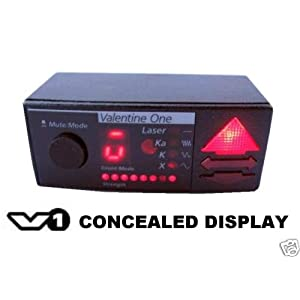 Valentine One Concealed Display for Radar Detector
