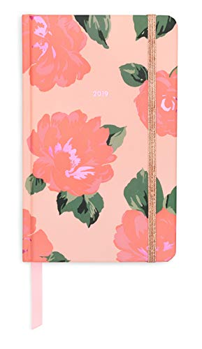12-Month Annual Hardcover Planner with Daily, Weekly, Monthly Spreads for January 2019 – Dec 2019, 8.2
