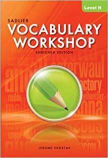 Book Vocabulary Workshop Enriched Edition Level H