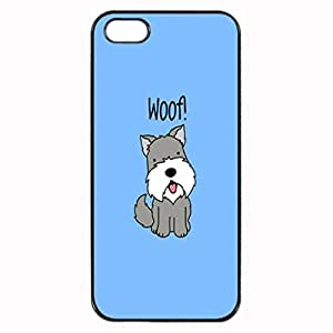 SCHNAUZER HAPPY PUPPIES Pattern Image Protective iphone 5S / iPhone 5 Case Cover Hard Plastic Case For iPhone 5 5S