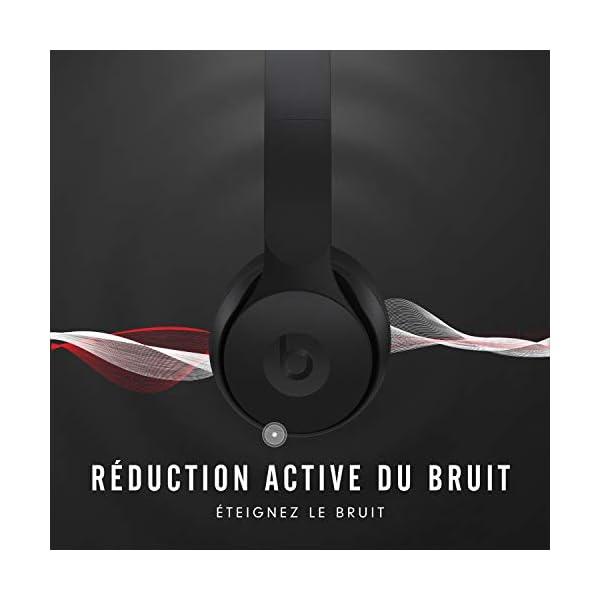 asque Beats Solo Pro sans fil avec réduction du bruit – Puce Apple H1 pour casques et écouteurs, Bluetooth classe 1…