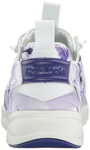 Reebok Vrouwen Furylite Grafische Mode Sneaker Bloemen / Opal / Pigment Paars