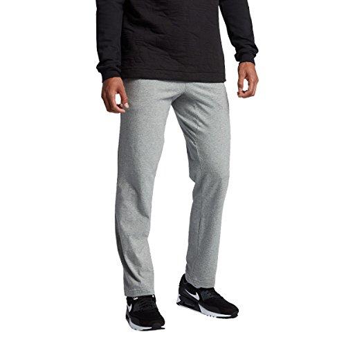 NIKE Mens Open Hem Club Cotton Jersey Light Sweatpants DK Gr