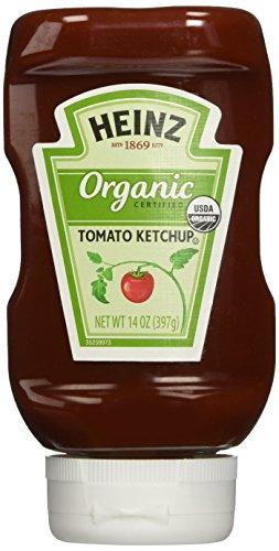 Heinz Organic Tomato Ketchup, 14 Ounce