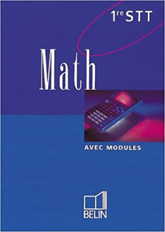 En ligne téléchargement gratuit Math, première STT. Livre de l'élève pdf epub