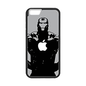 Cool Creative Iron Man with Apple Logo Design for iPhone 6 4.7