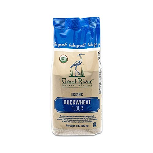 Great River Organic Milling, Specialty Flour, Buckwheat Flour, Organic, 22 Ounces (Pack of 4) by Great River Organic Milling (Image #3)
