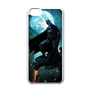 iPhone 5c Cell Phone Case White Batman JZN