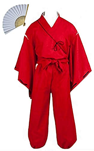 (Fuji Inuyasha Hero Simplified Cosplay Costume (S))