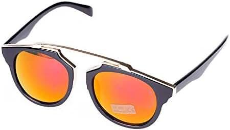 Woman's Retro Style Sunglasses Plastic Frame Glasses Lady Outdoor Uv400