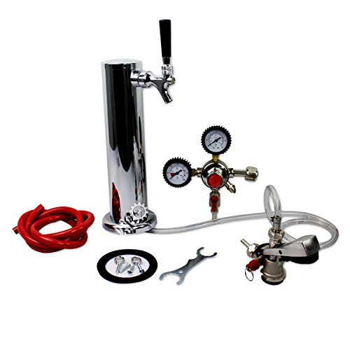 BACOENG Standard Tower Kegerator No Tank Beer Conversion Kit