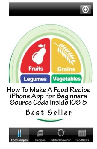 How To Make A Food Recipe iPhone App For Beginners Source Code Inside iOS 5 by CreateSpace Independent Publishing Platform