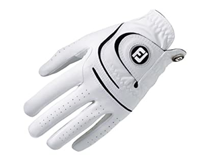 FootJoy WeatherSof Mens Golf Glove Left Hand Regular White (Small)