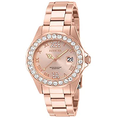 Invicta Women's 15253 Pro Diver Rose Gold Ion-Plated Stainless Steel Watch by Invicta