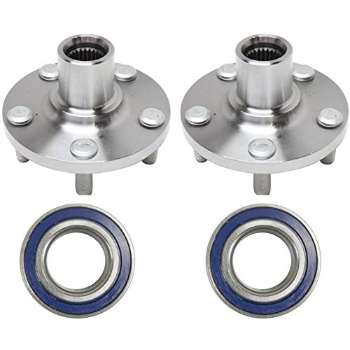 (Wheel Hub and Bearing Compatible with 2003-2012 Toyota Corolla 2003-2011 Matrix Front Left and Right With Kit)