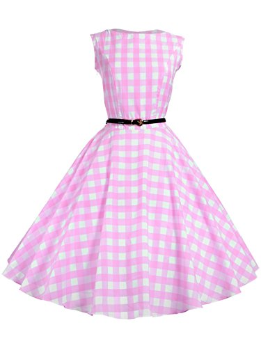 Maggie-Tang-Womens-1950s-Vintage-Rockabilly-Dress