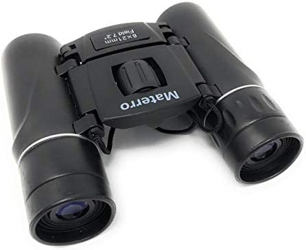 Compact Binoculars 8×21 for Wildlife Sports Event Watching. Durable, Waterproof, Fits in Your Palm, Great Stocking Stuffer