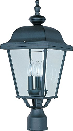 Led 3 Light Outdoor Post Lantern - 6