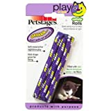 PetStages Night Time Catnip Rolls Dog Toy