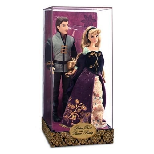 Briar Rose & Prince Phillip Doll Set - Disney Fairytale Designer Collection - Sleeping Beauty Couples (Rose Fairy Doll)