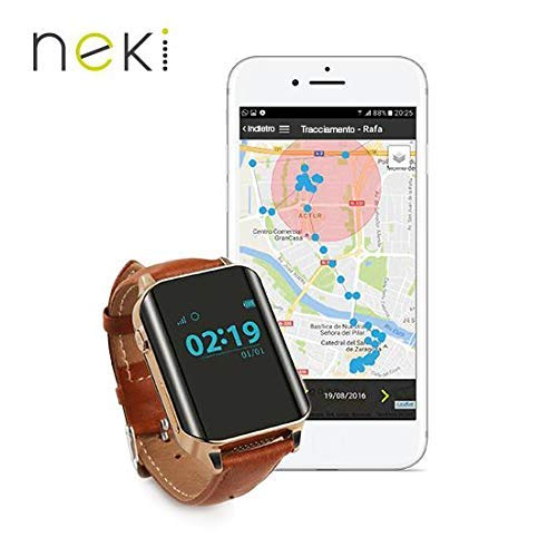 Nock Senior 2 - Reloj teléfono localizador GPS para Alzheimer o personas mayores product image