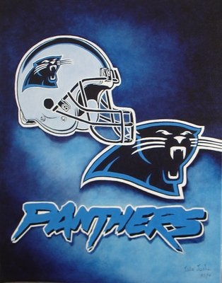 (Carolina Panthers 24X36 Banner Poster RARE #RWF334790)