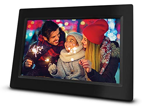 RCA 10 inch Wi-Fi Cloud Digital Photo Frame | The RCA Frame, 8GB Internal Storage, Touch Screen Slideshow Picture Frame. Instantly Sharing Memories. Worldwide Connectivity.