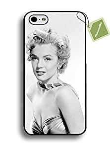 PHONECASEHOO Cell Phone Rugged Cases For Iphone 6/4.7 Inch Protective Case - Marilyn Monroe Quotes Pretty Style
