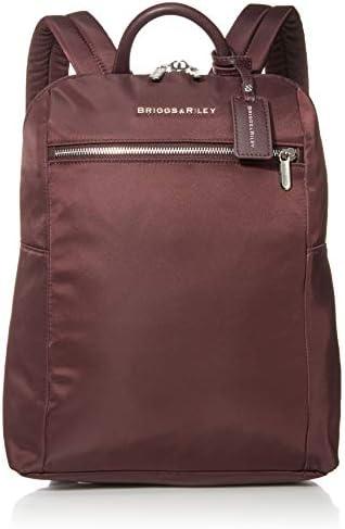Briggs Riley Rhapsody-Slim Backpack, Plum, One Size