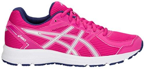 ASICS Womens Jolt Running Shoe, Fuschia Purple/Silver, Size 9.5