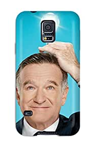 Galaxy Tpu Case Skin Protector For Galaxy S5 Robin Williams With Nice Appearance