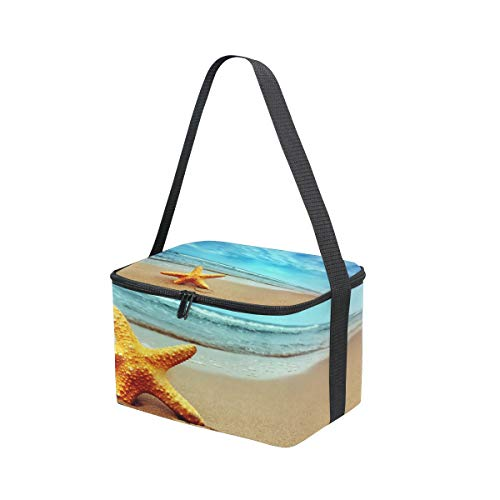 Bolsa On Correa The Starfish Blue Para Beach Sky Sea Almuerzo Fiambrera Picnic Hombro Cooler De rwUnxrH