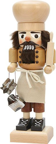 Nutcracker - Baker Natural - 27 cm / 10.6 inch