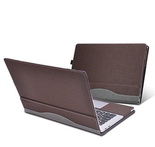 For Lenovo Yoga 910 / 920 Case Detachable PU Leather Protective Laptop Cover For Lenovo Yoga 5 Pro / Yoga 6 Pro 13.9 Inch (coffee)