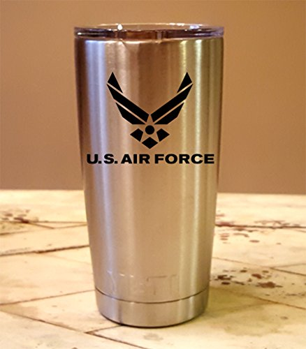 Personalized YETI 20 oz. Tumbler US Air Force CUSTOM Laser Engraved