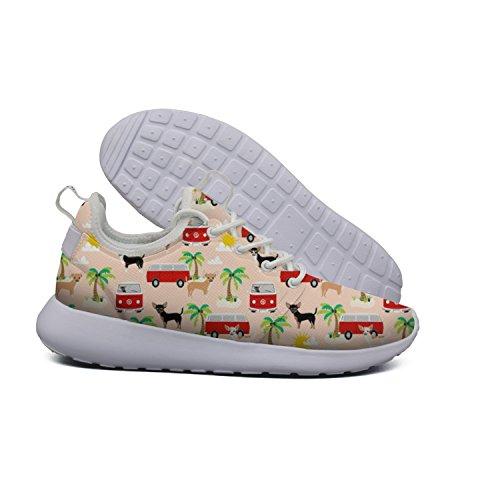 Mesh Hoohle art design Flex Womens Soft cactus Summer Beach 2 Running Roshe Lightweight Road Chihuahua Shoes Sports Fw4FHT
