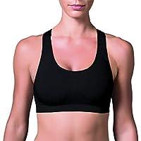 Top nadador feminino sustentação roupa academia ginástica fitness Lupo 71407