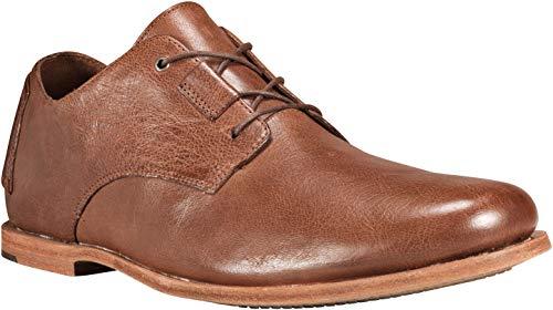 Timberland Brown Oxford - Timberland Men's Boot Company Tauk Point Oxford Medium Brown Full Grain 12 D US
