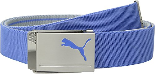 Puma Golf 2018 Men's Reversible Web Belt, (Quarry/Marina, One Size)