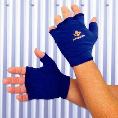 Anti Impact Glove Liner, Fingerless, Padded Palm, Right Hand ONLY, XLarge