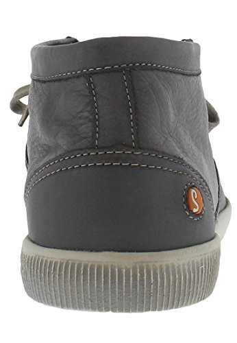 Softinos Tim washed leather, Farbe:grau;Größe:45