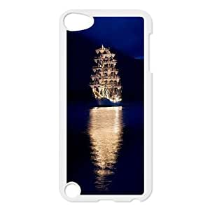 Best Quality [LILYALEX PHONE CASE] Tall ship & Sailing Vessel FOR IPod Touch 4th CASE-1