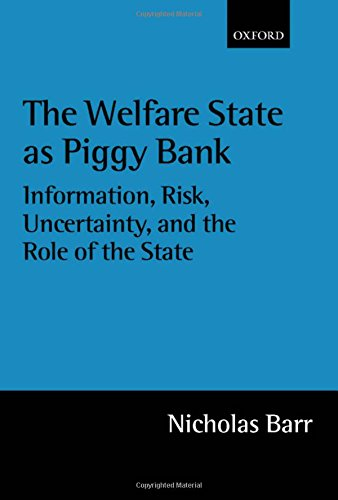 The Welfare State As Piggy Bank: Information, Risk, Uncertainty, and the Role of the State by Oxford University Press