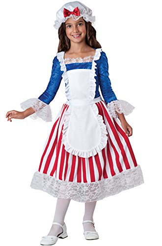 InCharacter Costumes Betsy Ross Costume, Size (Colonial Days Costumes Girls)