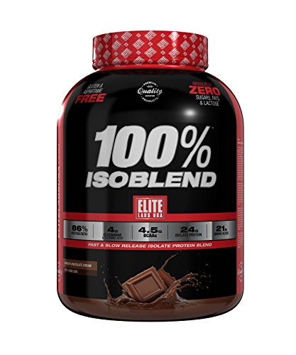 Elite Labs USA 100% ISOBLEND 4.02 LBS SMOOTH CHOCOLATE CREAM