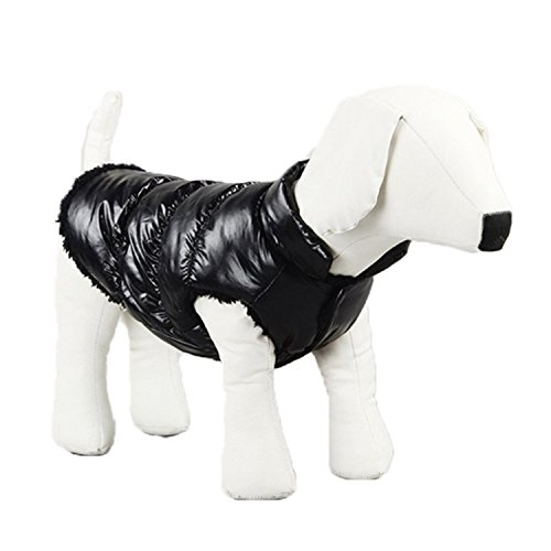 Winter Dog Clothes for Dogs Large Warm Waterproof Clothes for Small Dog Thickening Pet Dog Coat Jacket Pu for $<!--$29.50-->