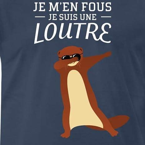 Je Men Fous Loutre Dabbing T-Shirt Premium Homme