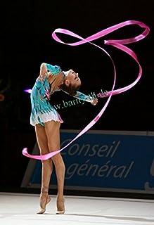 Ruban de gymnastique danse FUSHIA engin 4m cobo